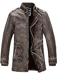 Diseño de paisaje otoñal de invierno y plus lavar de terciopelo para hombre fashion sintética para abrigos con…