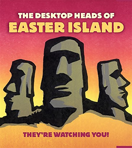 Desktop Heads of Easter Island: They're Watching You! (Mini Kit)