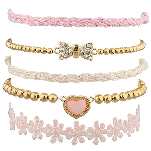 lux-accessories-dont-worry-be-happy-smile-peace-yin-yang-floral-flower-rainbow-arm-candy-bracelet-se