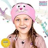Snuggly Rascals SR1-CAT Kids Adjustable Cat Headband Headphones - Pink