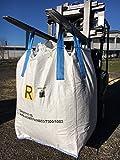 SACCONI BIG BAG OMOLOGATI per rifiuti pericolosi ADR 13H3/Y 90x90x120cm 5 pz