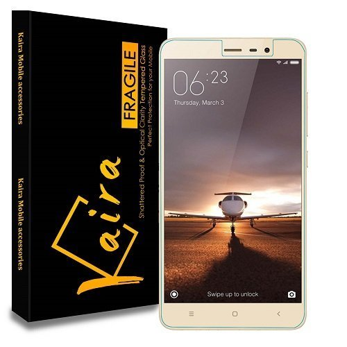 Xiaomi Redmi Note 3 KAIRA Pro HD+ 9H Hardness Toughened Tempered Glass Screen Protector