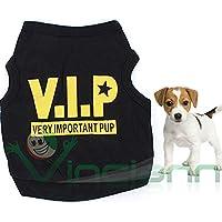 Maglia maglietta V.I.P. Dog vestito t shirts cane cucciolo animale domestico TAGLIA M