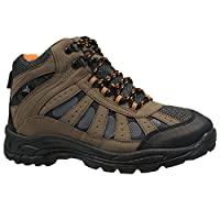 Mens LACE UP Trail Winter Walking Hiking Winter Work Ankle Boots Shoes Trainers (UK 11, Brown)