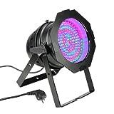 Cameo Light CLP64RGB10BS 183 x 10mm LED RGB PAR Scheinwerfer in schwarzem Gehäuse