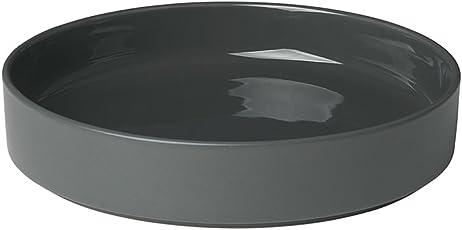Blomus - Mio - Tiefer Teller - Agave Green - Keramik - H: 4 cm/Ø 20 cm