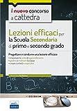CC 4/1 Lezioni efficaci per la Scuola secondaria di primo e secondo grado. Progettare e condurre una lezione efficace. Con espansione online