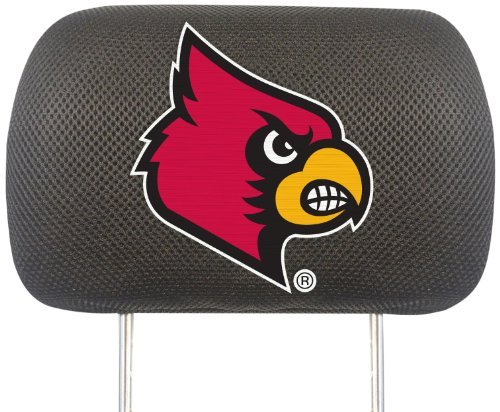 FANMATS NCAA University of Louisville Cardinals Polyester Head Rest Cover by Fanmats Louisville University