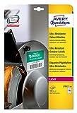 AVERY Zweckform L7911-10 Ultra-Resistente Folien-Etiketten (A4, 480 Stück, 45,7 x 21,2 mm, 10 Blatt) weiß