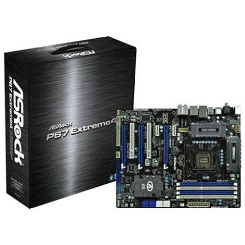 Asrock P67 Extreme4 Mainboard Sockel 1155- Chipsatz 4x DDR3 Speicher ATX