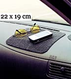 ANTIRUTSCHMATTE 22x19cm Haftmatte Rutschmatte Haft-Pad Handy Halter Auto KFZ LKW