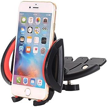 choetech support t l phone voiture sur slot cd avec rotation 360 degr s pour gps iphone. Black Bedroom Furniture Sets. Home Design Ideas