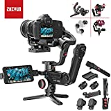 Zhiyun Crane 3 LAB 3-axis palmare stabilizzatore Gimbal per fotocamera reflex/mirrorless Sony Canon Panasonic (include supporto telefono, zoom/messa a fuoco motore, cintura fotocamera, monopiede)