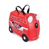 Trunki Ride-on Suitcase - Boris the Bus (Red)