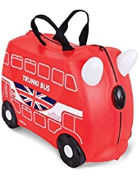 Trunki Kinderkoffer London Bus Kindergepäck, 18 Liter, Rot, 10117