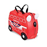 Knorrtoys 10117  - Trunki Kinderkoffer London Bus Kindergepäck, 18 Liter, Rot