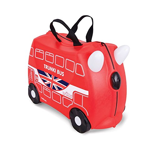 TRUNKI Children's Luggage, RED
