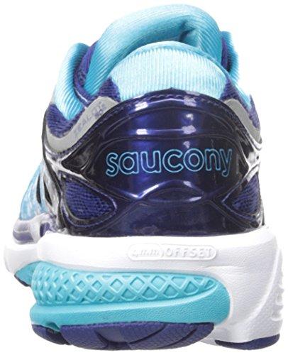 Saucony Zealot Iso 2 W, Entraînement de course femme Multicolore - Multicolore (Navy/Blue/Silver)