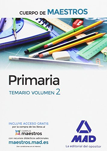 Cuerpo de Maestros Primaria. Temario Volumen 2 - 9788414201800 por S.L. CENTRO DE ESTUDIOS VECTOR