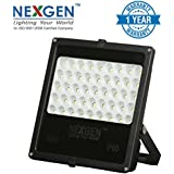 Nexgen Aluminium 50W LED Halogen Light, Black