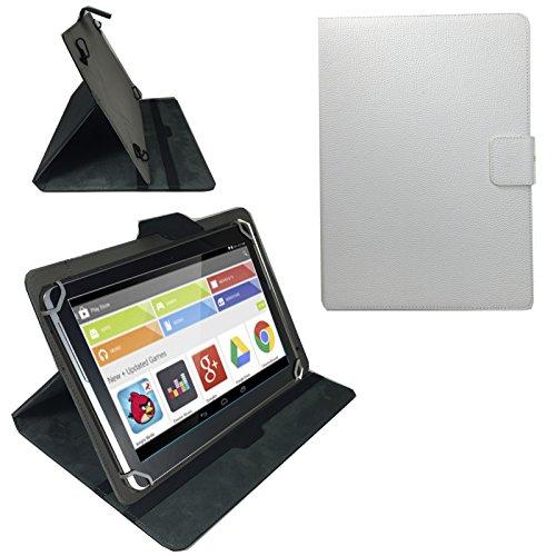 Preisvergleich Produktbild 11,6 Zoll WEISS Tablet Pc Tasche für Wortman TERRA PAD 1161 Pro Schutz Hülle Etui 11.6