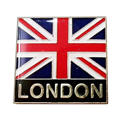 We Love Grande-Bretagne. à collectionner Union Jack Épinglette. souvenir/Speicher/Memoria. Union Jack/London Épinglette. Un Mémorable britannique souvenir. Épinglette/Anstecknadel/Spilla/Perno de la Solapa.