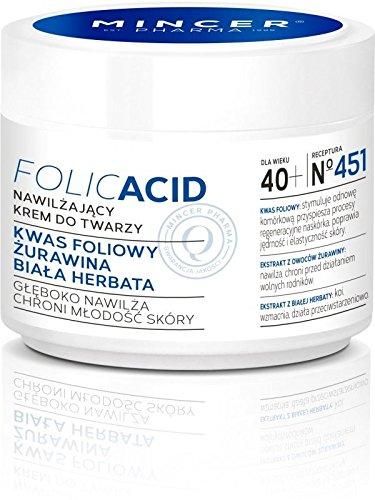 Mincer pharmaceutique Acide Folique Stark Crème de jour anti-rides Cranberry et thé blanc 40 + 50 ml