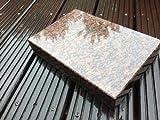 Granitsockel Sockel aus Granit Grabsockel Trittstein Granitplatte Vanga 30cm x 20cm x 5cm