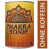 Original Chakra Tonic Kapseln Natürliche Diäthilfe Abnehmen ohne Koffein 180 Kapseln Ingwer, Kurkuma, Canehl, Piperin