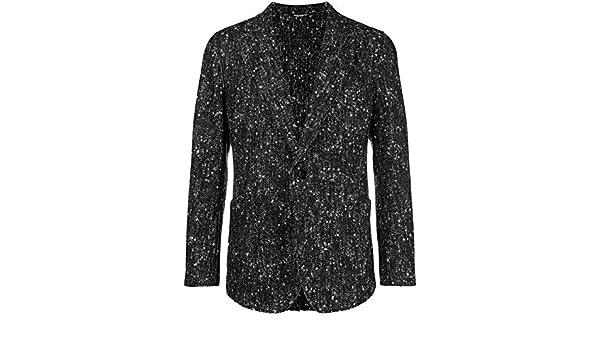 Homme Dolce E Laine Blancnoir Gabbana Blazer G2mb7tfcmcis8030 aAqxRUwA