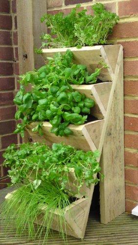 Come fare un orto verticale sul balcone foto e istruzioni da realizzare donnaclick - Come realizzare un giardino verticale ...