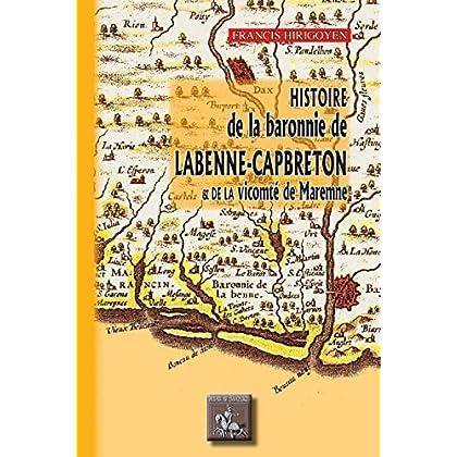 Histoire de la Baronnie de Labenne-Capbreton et de la Vicomté de Maremne (Radics)