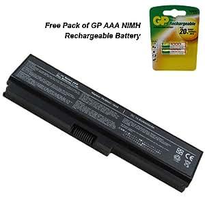 Batterie pour ordinateur portable TOSHIBA pa3817u1brs–Premium Projecteur Batterie 6cellules