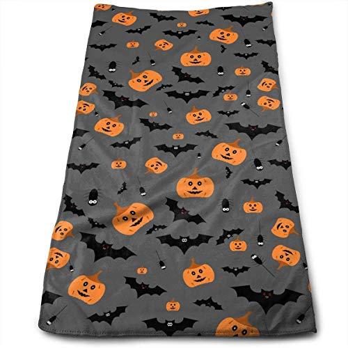 Osmykqe Superweiches, maschinenwaschbares und hochsaugfähiges Halloween-Handtuch (Wäsche waschen, Gesichtstücher)