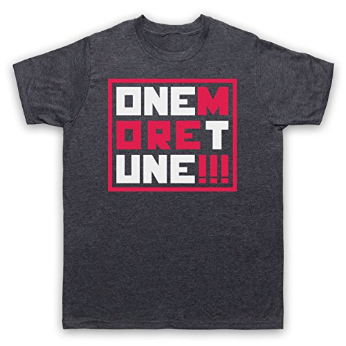 One More Tune Retro Gig Herren T-Shirt Jahrgang Schiefer