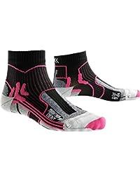 X-Socks Mujer xmara Marathon Energy Lady unidad calcetín, mujer, X-SOCKS MARATHON ENERGY LADY, Black/Fuchsia