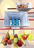 15 L Obstmühle, Obst Schredder, Maische, Weintrauben schreddern, Maischemühle