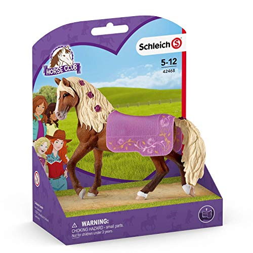 SCHLEICH 42468 Spielset - Paso Fino Hengst Pferdeshow (Horse Club), Mehrfarbig