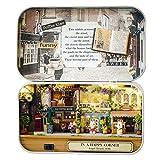 Nakw88 Puppenhaus Nostalgie Theater Szene Montage Spielzeug Möbel DIY Landschaft Miniatur Box Thema...