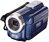 "Vivitar DVR508 HD Digital Video Camcorder in Blue with 1.8"" LCD Preview Screen & 4 x Digital Zoom"