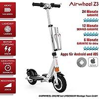 e–Scooter acoplador de patinete con motor plegable Airwheel Z3. Eléctrico de patinete para adultos. 24meses de garantía