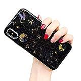 CXvwons Coque iPhone XS, Coque iPhone XS Max Élégant Bling Bling Housse de...