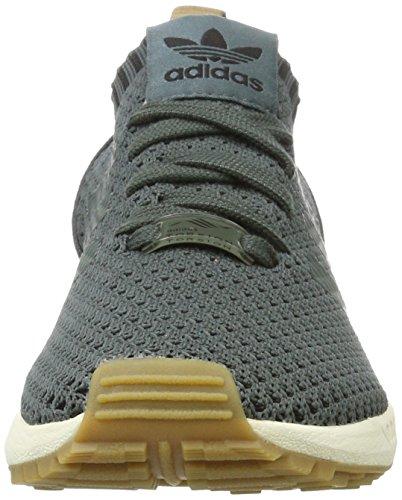 adidas Zx Flux Primeknit, Baskets Basses Mixte Adulte Grün (Utility Ivy/Utility Ivy/Gum)