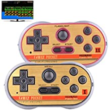 Retro Games Controller Mini Classic Handheld Game Console Toys For Kids Gamepad Joystick Support Dual Battle Load In 260 TV Video Games Childhood Plug & Play Gaming Station (Black+Red)