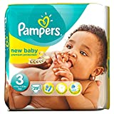 Pampers New Baby Taille 3 Midi 4-7kg (29) - Paquet de 6