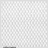 Glasfasertapeten Glasdekogewebe vorgrundiert No.4 (3,06EUR/m)