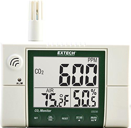 Extech CO230 CO2 Monitor zur Messung der Raumluftqualität - Infrarot-co2-sensor