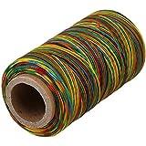 cnbtr 250metros 1mm 150d soporte de hilo de cuero encerado cordón costura Craft Colorful