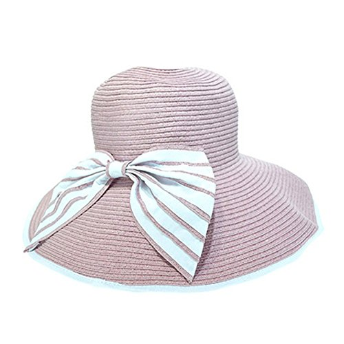 Eden hats - Capeline - Femme rose rose Medium Bleu