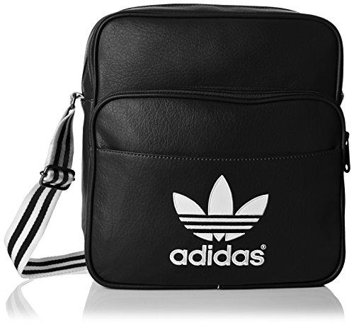 Adidas - Borsa A Spalla Sir Adicolor, Nero/Bianco
